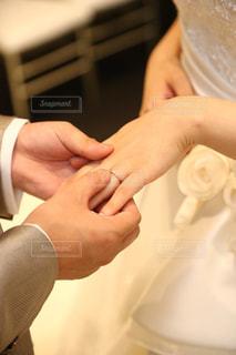 指輪交換の写真・画像素材[881624]