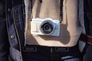 カメラ女子の写真・画像素材[884015]