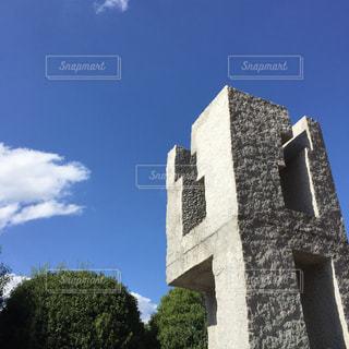 青空と恵比寿の時計台の写真・画像素材[944562]