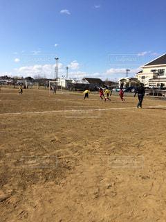 小学生サッカー試合の写真・画像素材[885537]