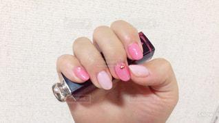 ピンクがメインのネイル - No.883309