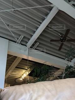 カフェの天井の写真・画像素材[883436]