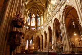 プラハ城 聖ヴィート大聖堂の写真・画像素材[883800]