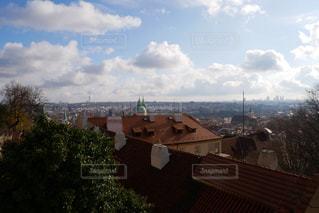 プラハ城から眺める街並み2の写真・画像素材[883818]
