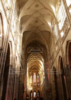 プラハ城 聖ヴィート大聖堂の写真・画像素材[883822]