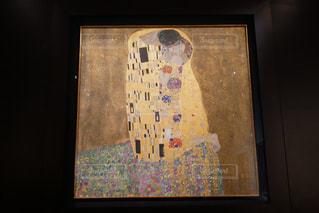 クリムト 接吻の写真・画像素材[883830]