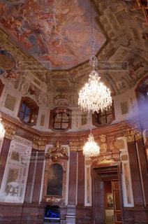 ウィーン  シェーンブルン宮殿の内装2の写真・画像素材[883831]
