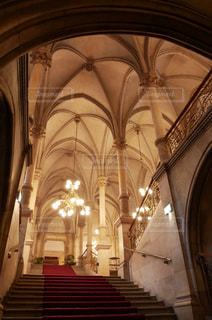 ウィーン 市庁舎内観の写真・画像素材[883835]