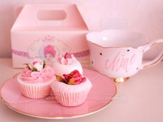 小さなピンクのケーキ - No.906017