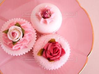 ピンクと白のケーキ - No.906018