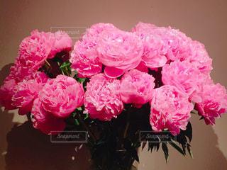ピンクの花の花束の写真・画像素材[1157205]