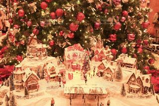 クリスマス ディスプレイの写真・画像素材[1649858]
