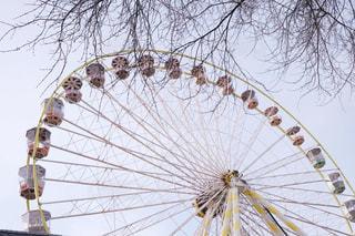 フランスの移動遊園地の写真・画像素材[2913602]