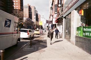 ニューヨークを歩くの写真・画像素材[884431]