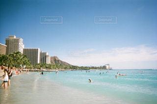 ワイキキビーチの写真・画像素材[884503]