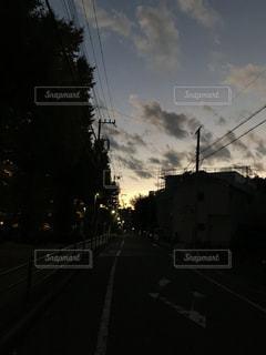 夕暮れの写真・画像素材[885066]