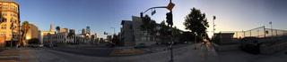 ダウンタウンストリートの写真・画像素材[886309]