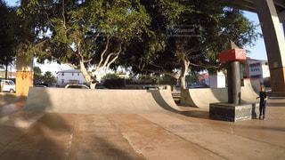ダウンタウンスケートボードパークの写真・画像素材[886503]