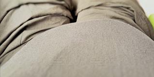 妊娠中の胎動の写真・画像素材[886233]