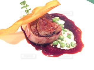 食品のプレートの写真・画像素材[996485]