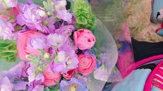 祝いの花束の写真・画像素材[996488]