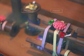 京都お土産の帯留めの写真・画像素材[1016727]