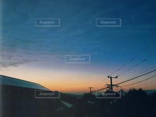 冬の空の写真・画像素材[1535488]