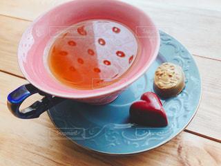 紅茶とチョコの写真・画像素材[1754996]