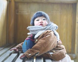 散歩中の女の子の写真・画像素材[1784531]