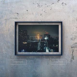 建物の側面にある絵の写真・画像素材[2274533]