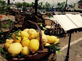 カプリ島のレストランの写真・画像素材[902418]