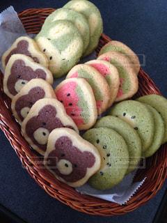 初めて作ったアイスボックスクッキーの写真・画像素材[887229]