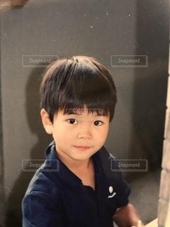 可愛い男の子の写真・画像素材[886824]