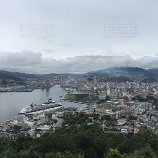 鍋冠山からの眺望2の写真・画像素材[891446]