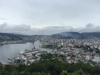 鍋冠山からの眺望1の写真・画像素材[891447]