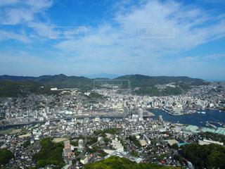 稲佐山展望台からの眺望の写真・画像素材[891460]