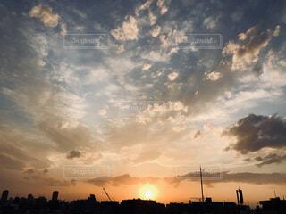 絵画のような空の写真・画像素材[4373916]