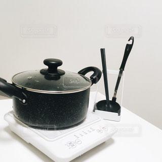 鍋の準備の写真・画像素材[887414]