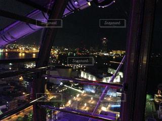 観覧車から見た夜景の写真・画像素材[892844]