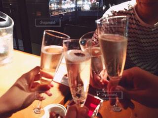 シャンパンで乾杯🥂の写真・画像素材[900480]