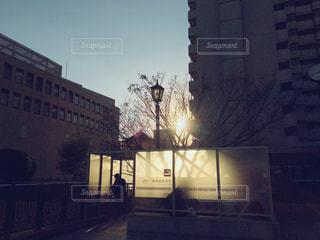 冬の喫煙所🍃の写真・画像素材[909262]