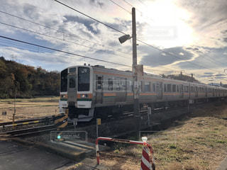 鋼のトラックの列車の写真・画像素材[893209]
