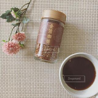 金箔珈琲 コーヒーの写真・画像素材[888932]