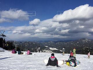 スキーの写真・画像素材[1469745]