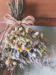 ドライフラワーの花束の写真・画像素材[2480665]
