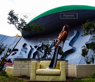 緑色の傘 - No.889382