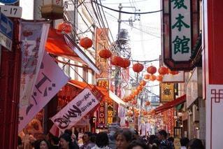 横浜中華街の写真・画像素材[28221]