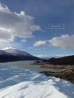 氷山からの自然姿の写真・画像素材[890236]