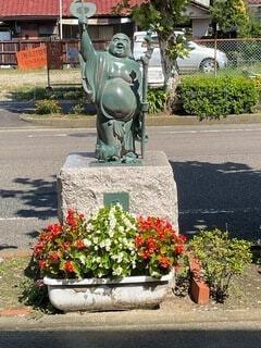 街中に七福神の写真・画像素材[4931742]