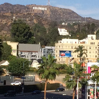 ハリウッドサインの写真・画像素材[892876]